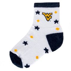 Baby Mojo West Virginia Mountaineers ''I'm a Star'' Cushioned Crew Socks