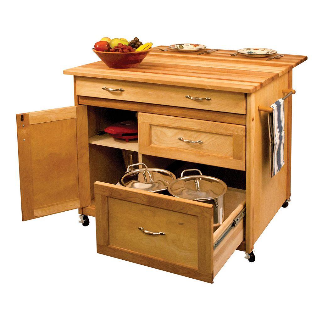 Deep Drawer Kitchen Cart