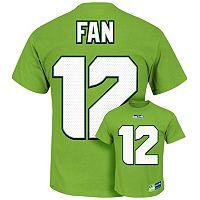 Majestic Seattle Seahawks Fan The Eligible Receiver II Tee - Men