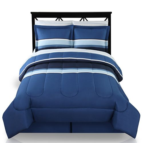 the big one colorblock reversible bed set