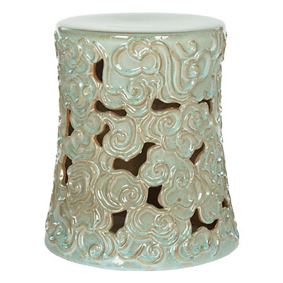 Safavieh Ocean Cloud Ceramic Garden Stool