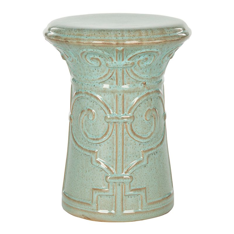 safavieh imperial scroll ceramic garden stool