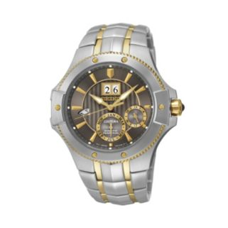 Seiko Men's Coutura Two Tone Stainless Steel Kinetic Watch - SNP108