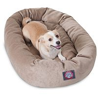 Majestic Pet Villa Bagel Pet Bed - 32'' x 23''