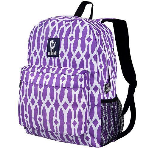 Kids Wildkin Patterned Crackerjack Backpack