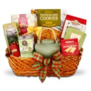 Snowtime Tea Sampler Gift Basket
