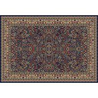 Merinos Sarouk Floral Framed Rug - 3'11'' x 5'7''