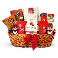 Breakfast in Bed Gift Basket
