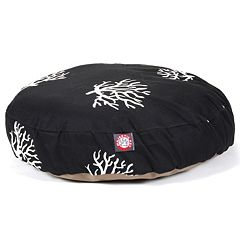 Majestic Pet Coral Reef Round Pet Bed - 30'' x 30''
