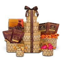Alder Creek Godiva Chocolate Signature Tower Gift Set