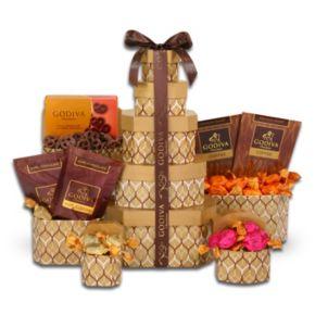 Alder Creek Godiva Chocolate Signature Tower Gift Set