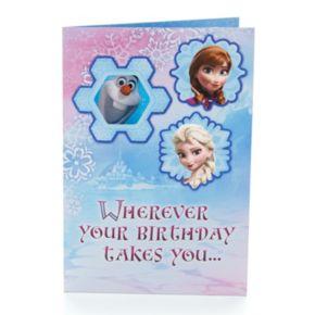 Disney Frozen Birthday Card, Gift Bag and Tissue Set by Hallmark