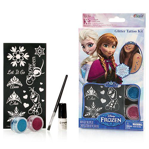 Disney's Frozen Glitter Tattoo Kit by Glimmer Body Art