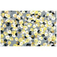 Trans Ocean Imports Liora Manne Visions III Pansy Doormat - 20'' x 29 1/2''