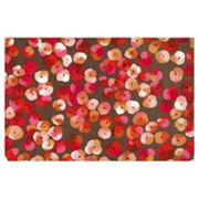 Liora Manne Visions III Pansy Doormat - 20'' x 29 1/2''