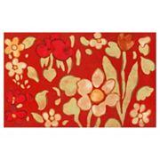 Liora Manne Visions IV Watercolor Flower Doormat - 20'' x 29 1/2''