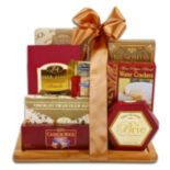 Burgundy & Gold Cutting Board Gift Set