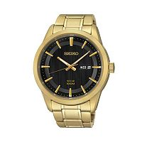 Seiko Men's Stainless Steel Solar Watch - SNE368