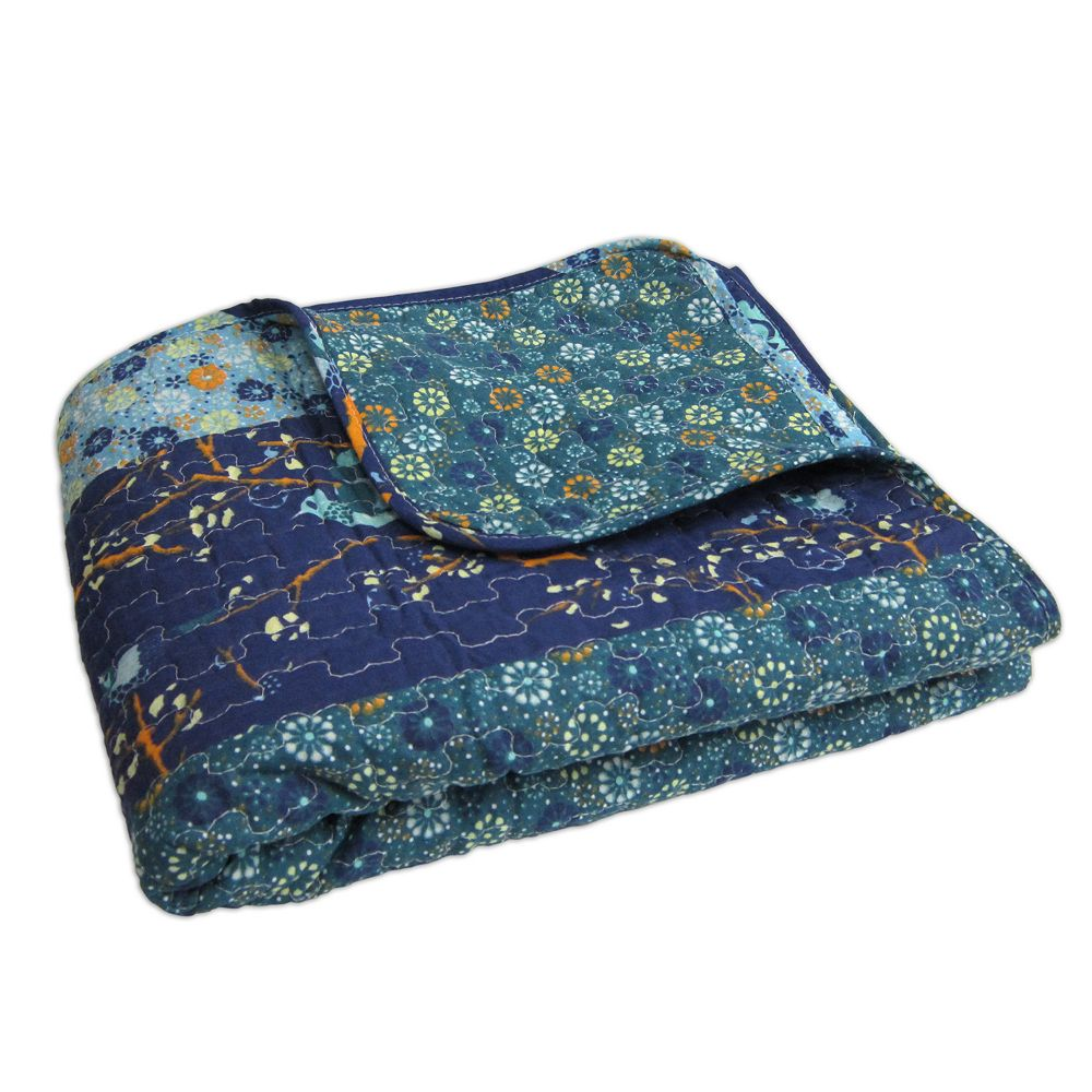 Royal Empire Quilted Reversible Throw