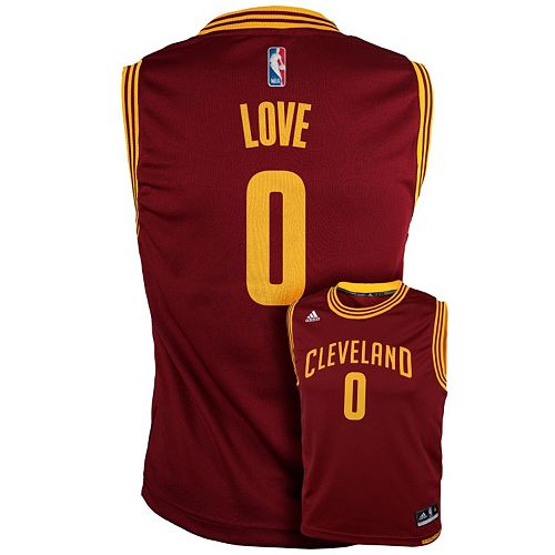 cheap for discount 4bee2 ffc99 adidas Cleveland Cavaliers Kevin Love NBA Replica Jersey ...