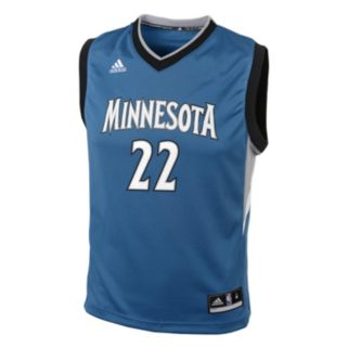Boys 8-20 adidas Minnesota Timberwolves Andrew Wiggins NBA Replica Jersey