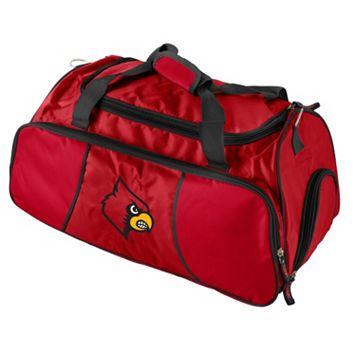 Logo Brand Louisville Cardinals Athletic Duffel Bag