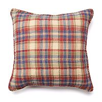 Chaps Home Cape Cod Yarn-Dyed Plaid Throw Pillow