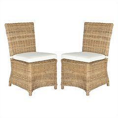 Safavieh 2-piece Sebesi Dining Chair Set