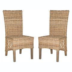 Safavieh 2-piece Sumatra Dining Chair Set