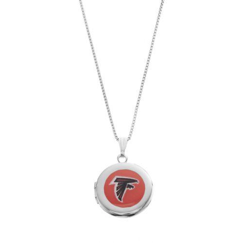 Atlanta Falcons Sterling Silver Locket