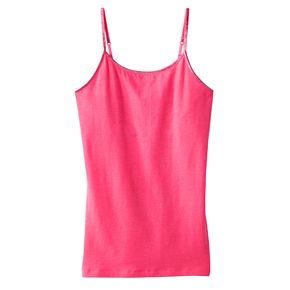 Girls' Plus Size SO® Solid Strappy Tank