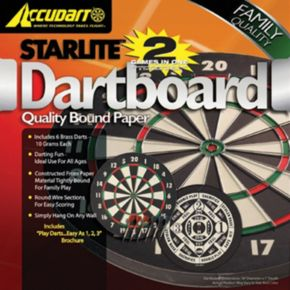 Accudart Starlite 2-in-1 Dartboard