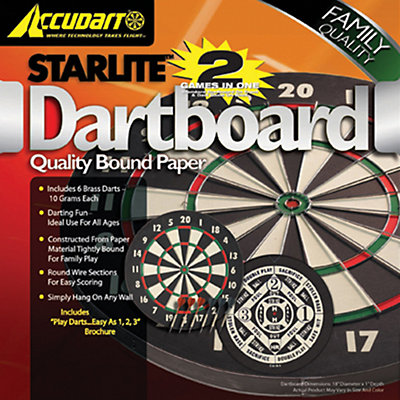 Accudart Starlite 2-in-1 Dartboard