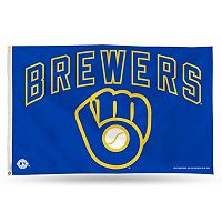 Milwaukee Brewers Blue Banner Flag