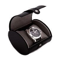 Bey-Berk Leather Watch Travel Case - Men