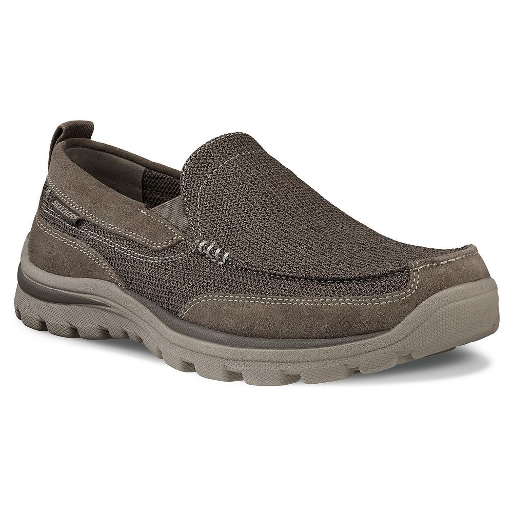 704eef0f1484 Skechers Relaxed Fit Superior Milford Men s Slip-On Casual Shoes