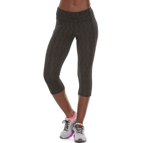50a64c67ee Women's Tek Gear® Core Lifestyle Capri Yoga Leggings