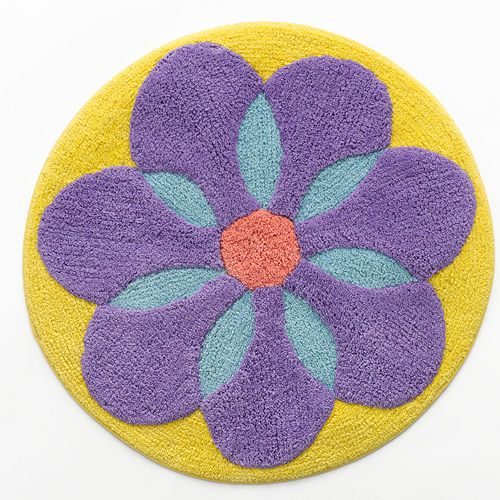 Blossoms Blooms Spring Flower Bath Rug