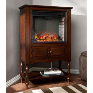 Southern Enterprises Corsica Electric Fireplace Cabinet
