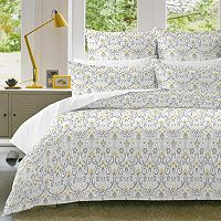 Pointehaven Meadow Flannel Duvet Cover Set