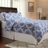 Pointehaven Alpine Flannel Duvet Cover Set