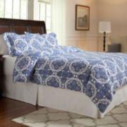 Pointehaven Alpine Flannel Duvet Cover Set
