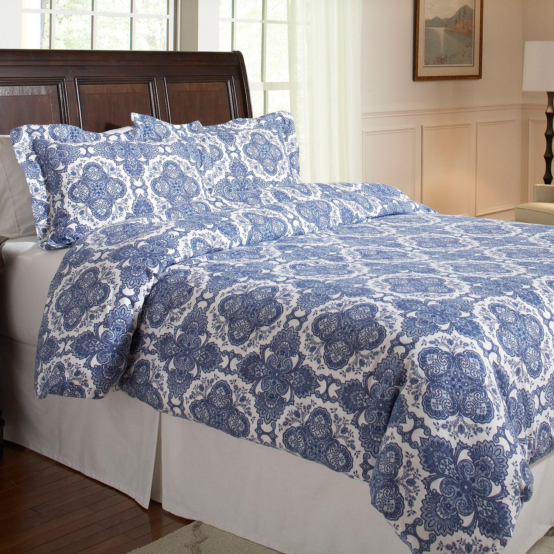 collection shop scalloped sophie bed blue linen conran cover scallop duvet