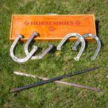 Franklin Vintage Horseshoe Set