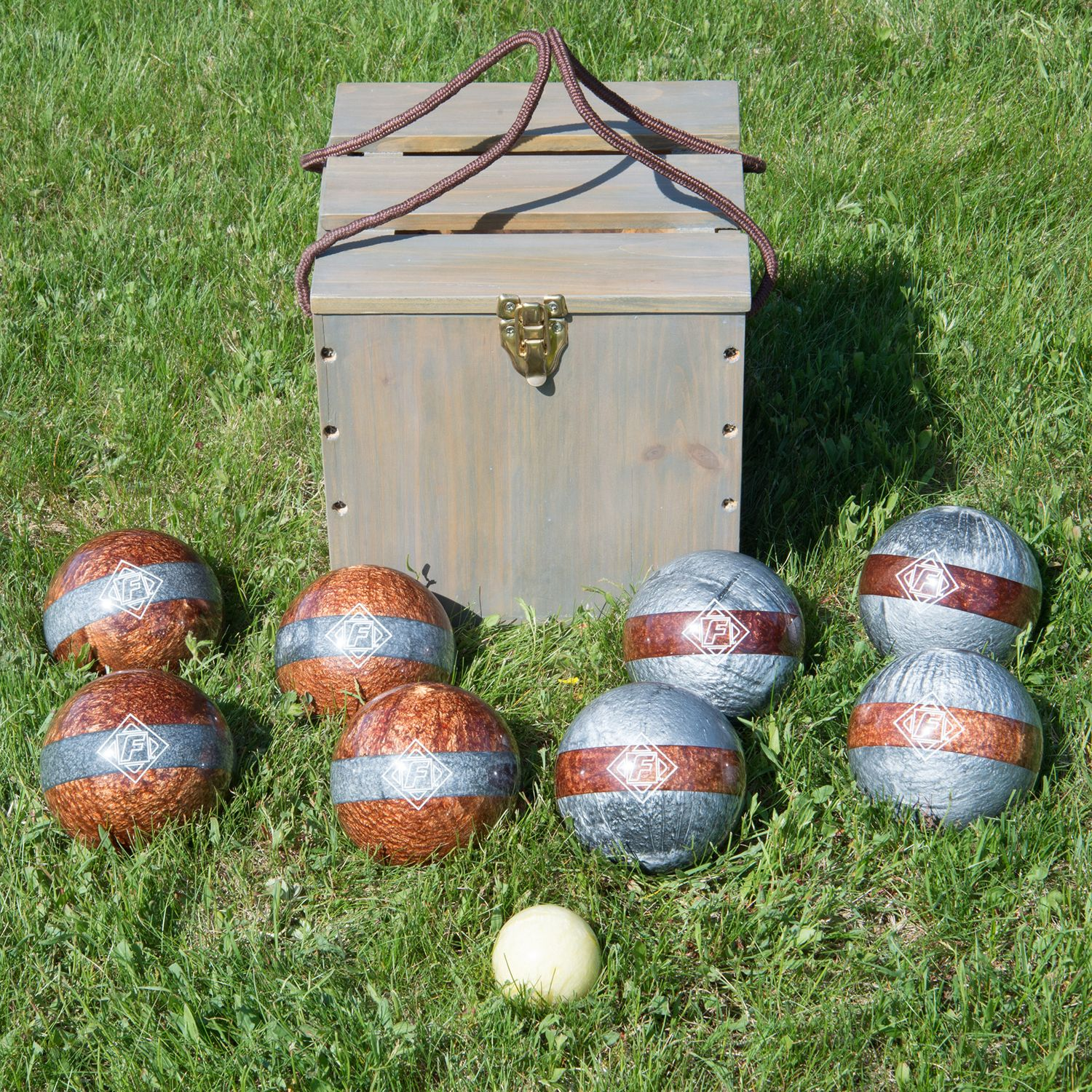 franklin vintage bocce set - Bocce Set