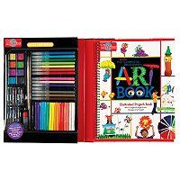T.S. Shure Complete Beginner's Art Book & Art Kit Set
