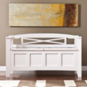 Southern Enterprises Whitley Storage Bench