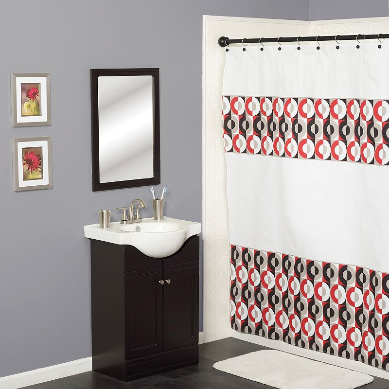Red Bathroom Decor Curtain Kohl 39 S