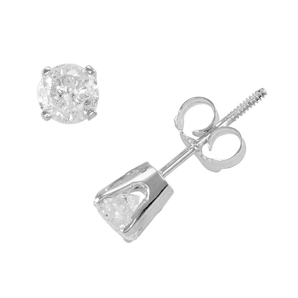 5/8 Carat T.W. Diamond 14k Gold Stud Earrings