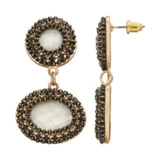 GS by gemma simone Artisan Collection Daniela Oval Drop Earrings